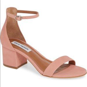 Steve Madden Pink Irenee Sandal Heels 8.5M NEW